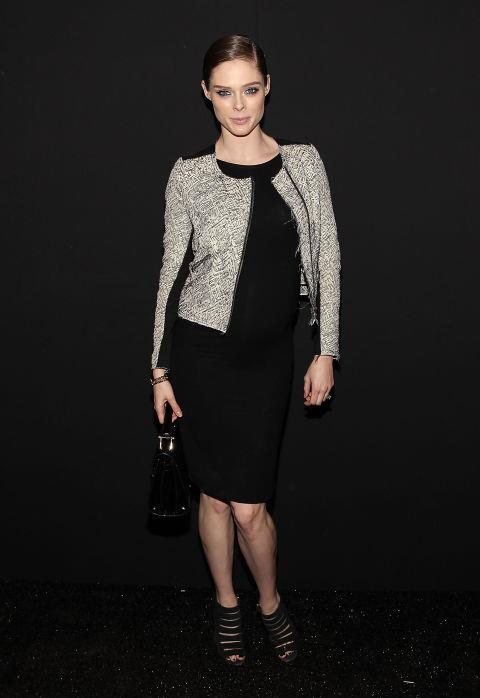 <strong>COCO ROCHA</strong> At Rebecca Minkoff.