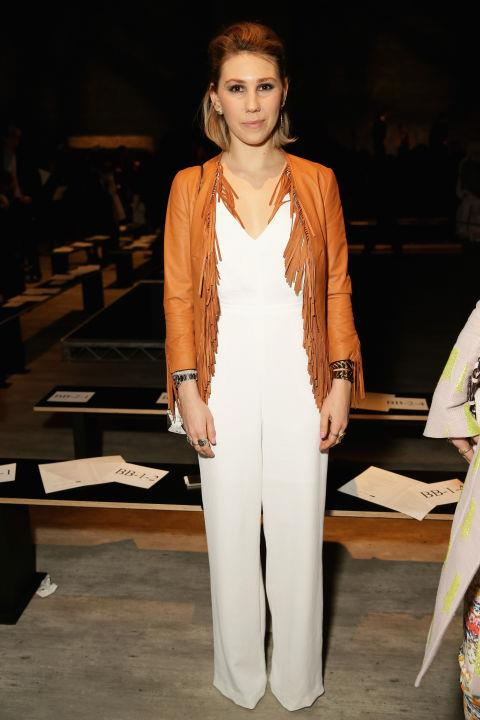 <strong>ZOSIA MAMET</strong> At Rebecca Minkoff.