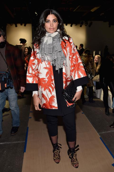 <strong>RACHEL ROY</strong> At Rebecca Minkoff.