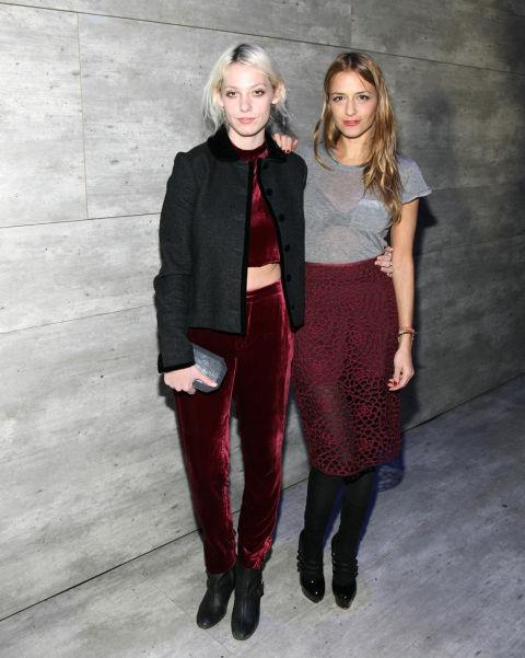 <strong>CORY KENNEDY AND CHARLOTTE RONSON</strong> At Charlotte Ronson.