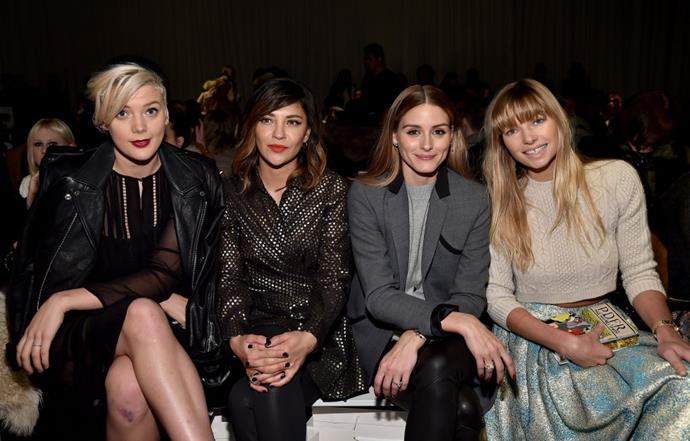<strong>BETTY WHO, JESSICA SZOHR, OLIVIA PALERMO AND JESSICA HART</strong> At Zimmerman.