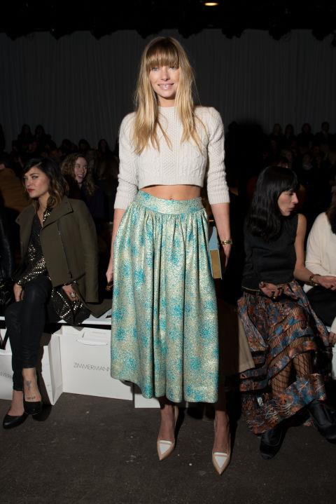<strong>JESSICA HART</strong> At Zimmerman.