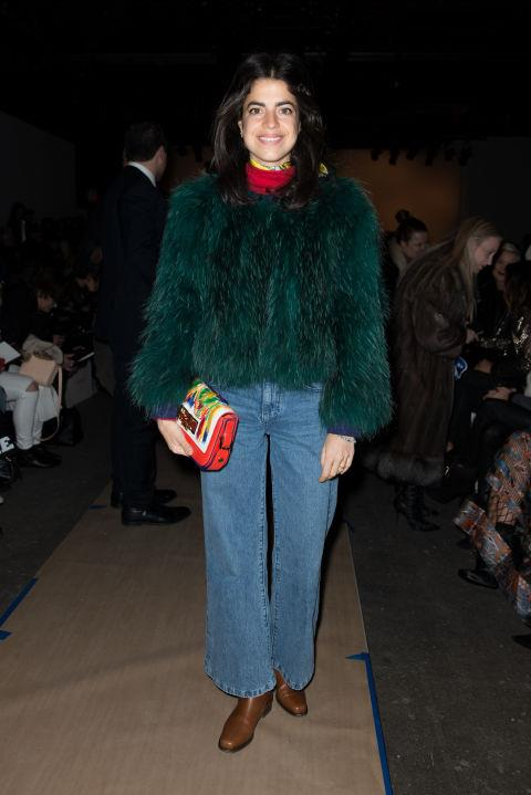 <strong>LEANDRA MEDINE</strong> At Zimmerman.