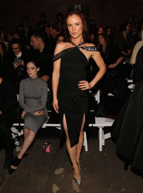 <strong>JULIETTE LEWIS</strong> At Christian Siriano.