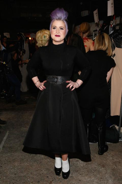 <strong>KELLY OSBOURNE</strong> At Christian Siriano.