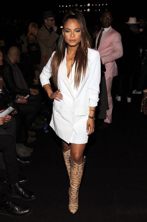 <strong>CHRISTINA MILIAN</strong> At Fashion For Relief.