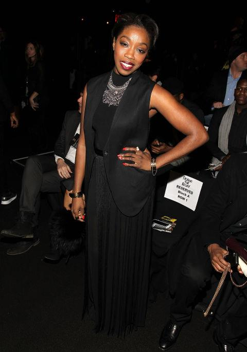 <strong>ESTELLE</strong> At Fashion For Relief.