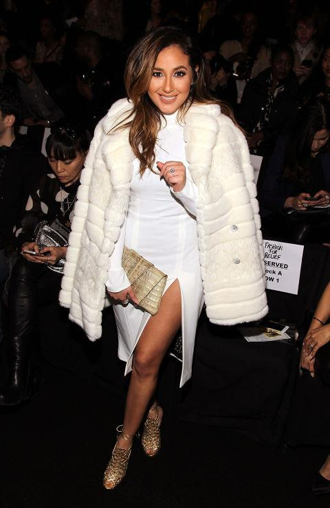 <strong>ADRIENNE BAILON</strong> At Fashion For Relief.
