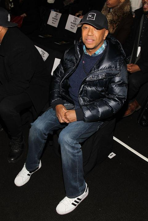 <strong>RUSSELL SIMMONS</strong> At Fashion For Relief.