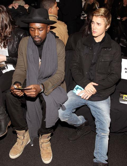 <strong>JUSTIN BIEBER</strong> At Fashion For Relief.