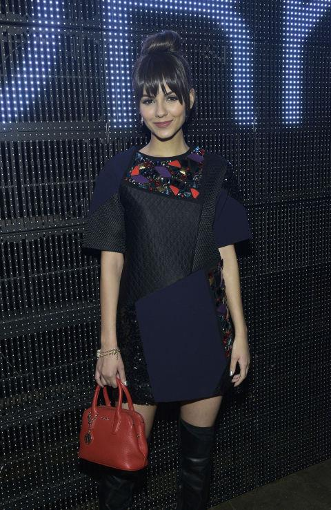 <strong>VICTORIA JUSTICE</strong> At DKNY.