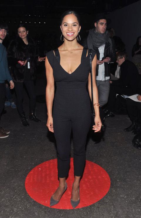 <strong>MISTY COPELAND</strong> At Tracy Reese.