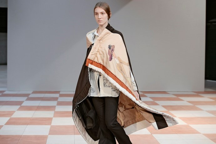 3. Snooze is not a dirty word. <br><br>Why else would Celine's Phoebe Philo send duvet-inspired capes down the runway if it wasn't to encourage her fellow fashion folk to get some quality shut-eye? And those woodland animal prints will surely help to sooth come sleepy time.