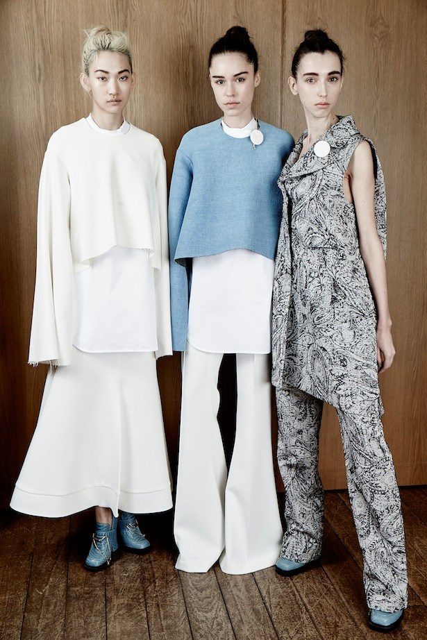 4. Platforms are non-negotiable. <br><br>Long tailored trousers and elegant skirt lengths like those seen at Ellery can be hugely flattering, but without the right shoe the effect is less Freja Beha and more Frodo Baggins. Step up.