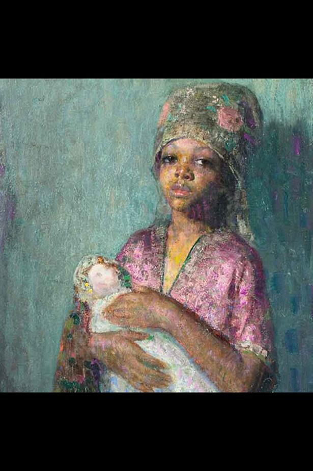 'The Little Mother' by Hovsep Pusman. Estimated value: $40,000 to $65,000.