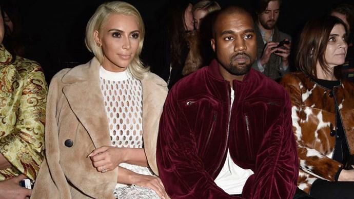 Kim Kardashian front row evolution