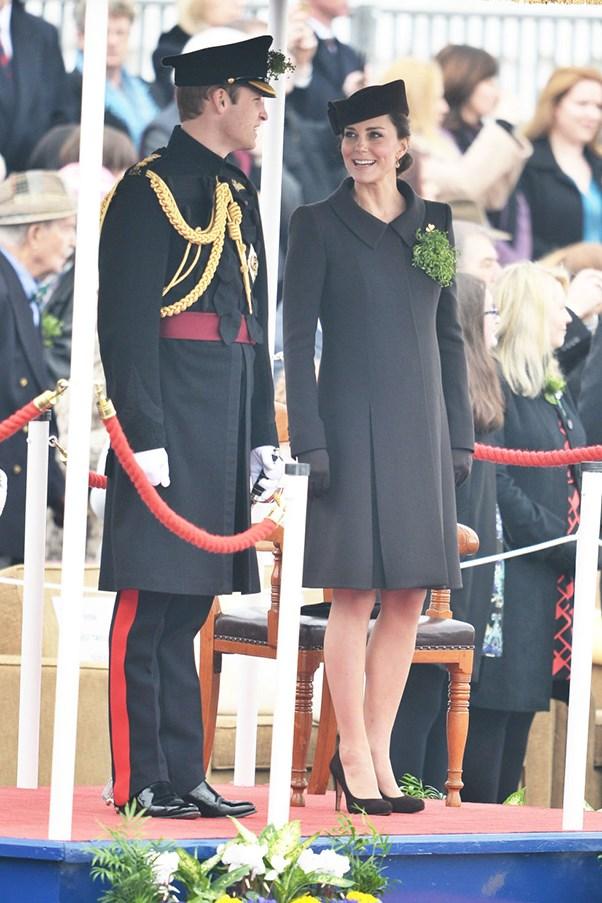 Kate Middleton at St.Patrick's day