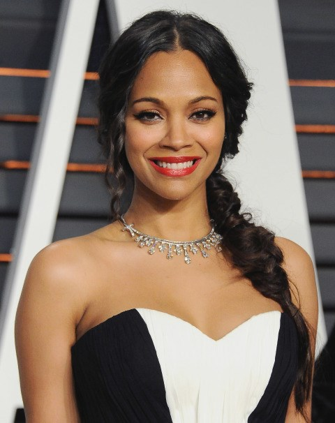 """<strong>ZOE SALDANA</strong> <BR> It's not totally unheard of, of course, but Saldana and the ladies in her family swear by a mayo hair mask to keep their hair nourished and shiny. (To be fair, she told <em><a href=""""http://www.allure.com/beauty-trends/blogs/daily-beauty-reporter/2011/10/everything-you-wanted-to-know-about-zoe-saldana.html"""">Allure</a></em> she only does it """"once a year."""") <BR> <strong>The Verdict:</strong> If you can stomach the smell of massaging mayo into your strands and leaving it on your head for at least ten minutes, give it a try. However, you can save yourself the trouble by simply using a moisturizing hair mask."""