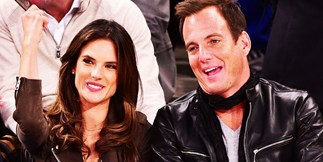 Alessandra Ambrosio and Will Arnett