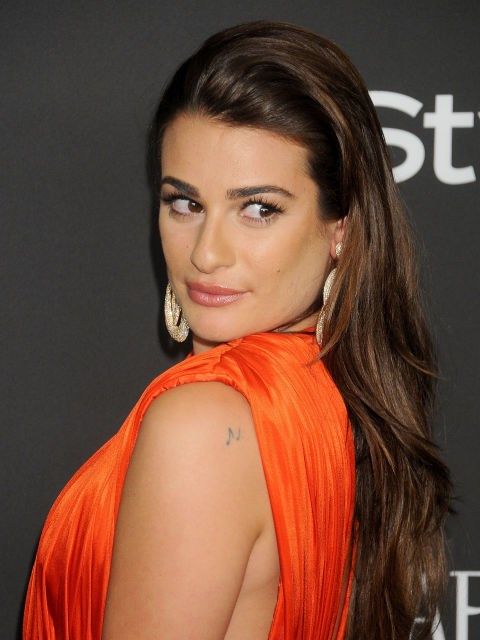 Opt for just the slightest, subtlest hint of a wave, like Lea Michele