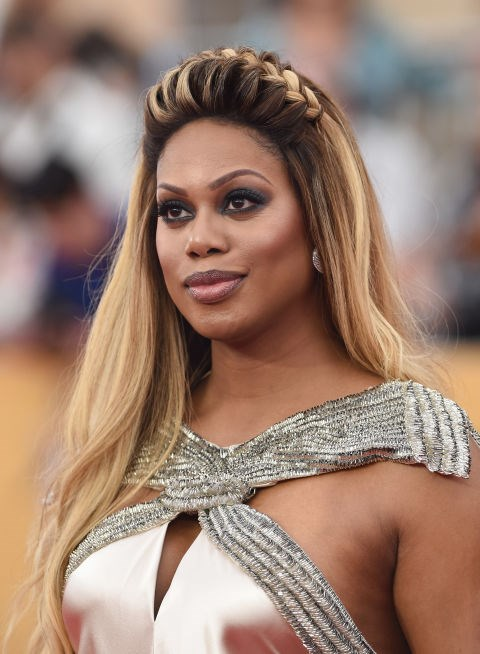 Do a playful braid, like Laverne Cox