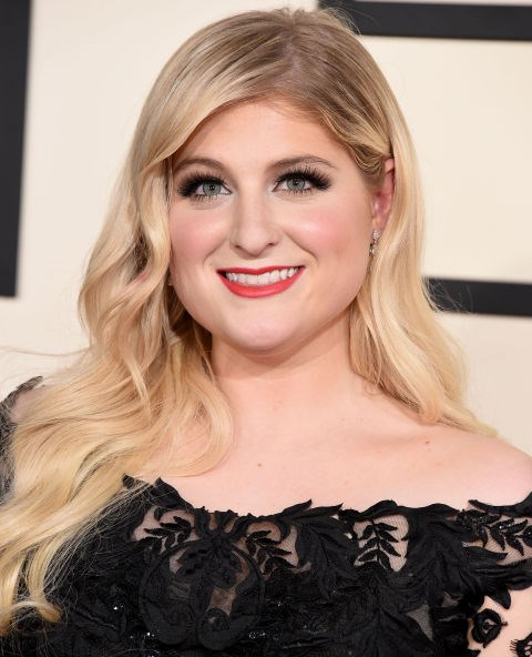 Embrace the dye growing out, like Meghan Trainor