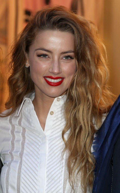 Get the bedhead effect, like Amber Heard