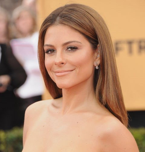 Go simple and polished, like Maria Menounos