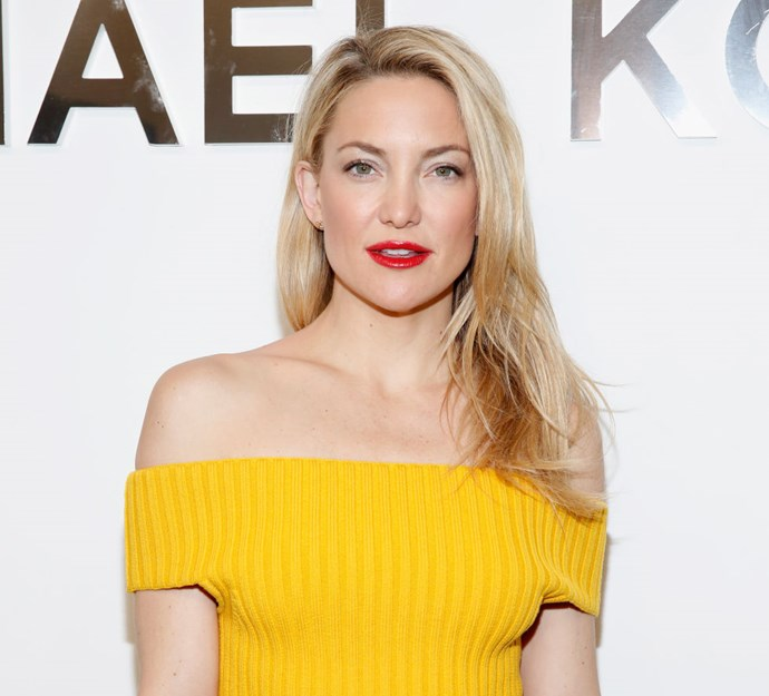 Go ultra, ultra blonde, like Kate Hudson