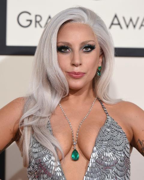 Instead of blond, go silver, like Lady Gaga