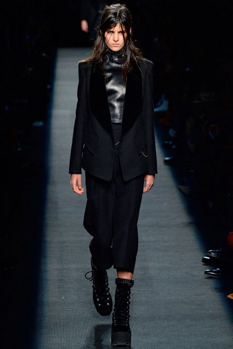 <strong>Astrid Holler<br></strong><br> Age: 18<br> Nationality: Australian<br> Runway Highlights: Alexander Wang, Elie Saab, Acne, Carven, Lanvin, Fendi, Burberry Prorsum, Prabal Gurung, 3.1 Phillip Lim<br> Fun Fact: Holler joins the likes of Vanessa Moody, Anna Ewers, and Nadja Bender as the latest to open the Alexander Wang show.<br>