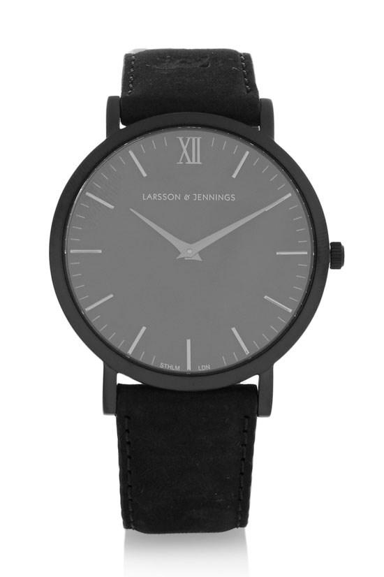 """Stainless steel watch, $370.14, Larsson & Jennings, <a href=""""http://www.net-a-porter.com/au/en/product/583192"""">www.net-a-porter.com</a>"""