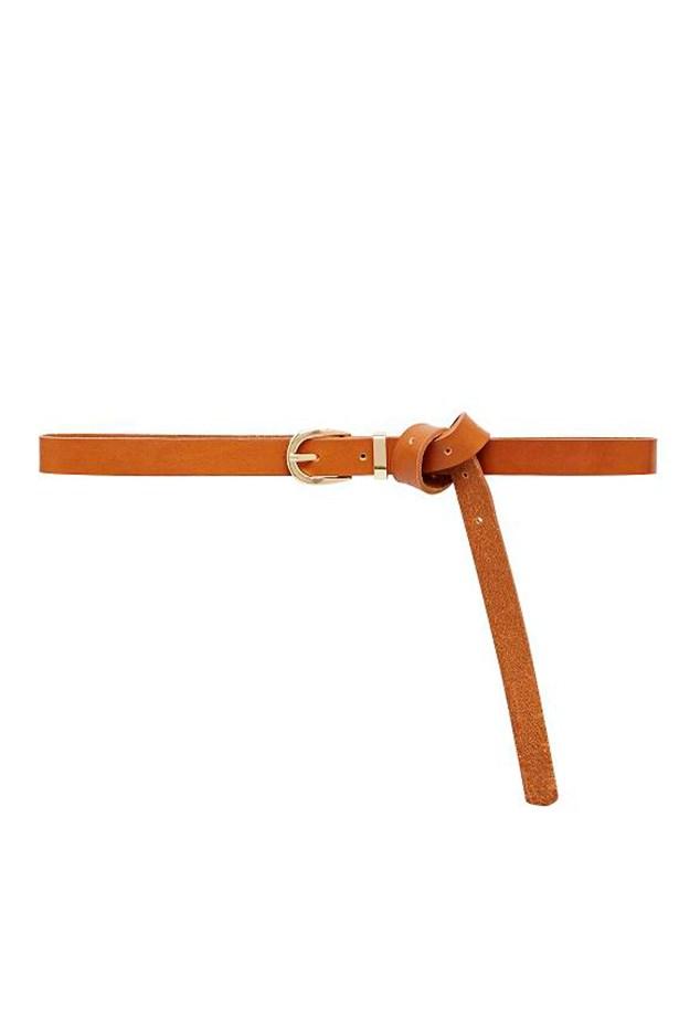 """Belt, $39.95, Seed, <a href=""""http://www.seedheritage.com/belts-and-gloves/skinny-loop-belt/w1/i12272708_1001341/ """">seedheritage.com</a>"""