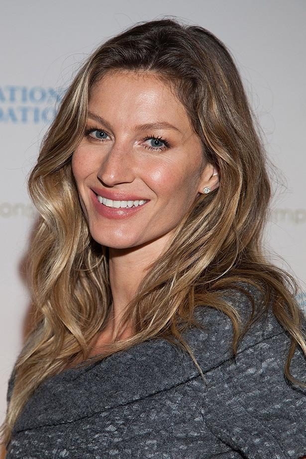 <strong>Gisele Bundchen</strong> Here's another supermodel mummy with a passion for natural health and wellbeing. Gisele carried this love to her pregnancy journey and credits meditation with helping uphold her natal health and manage pain during her water birth.