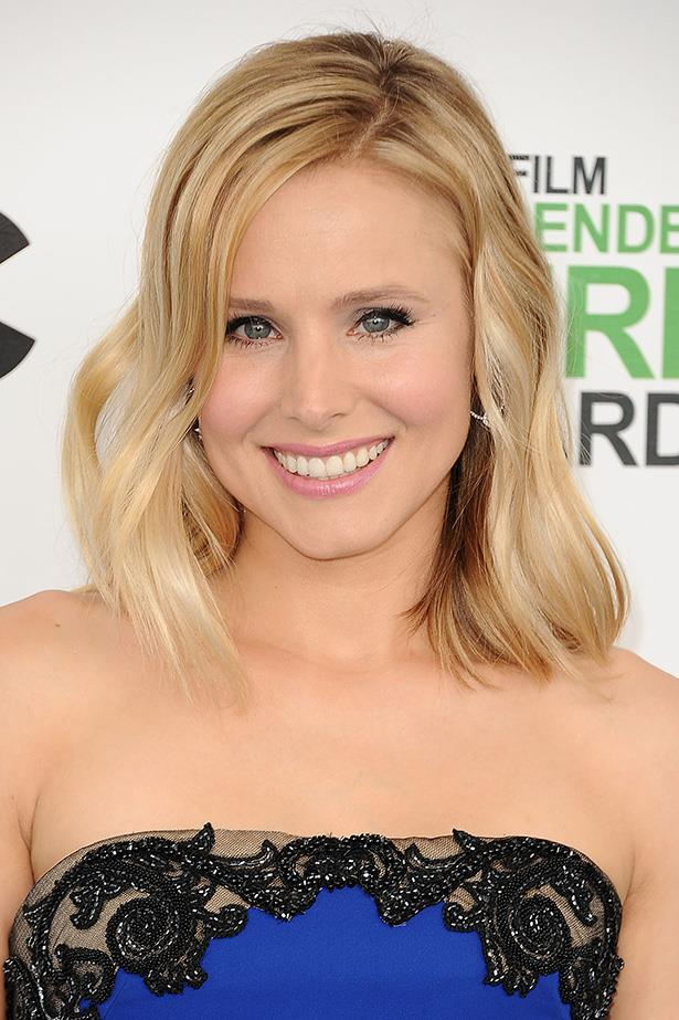 """<strong>Kristen Bell</strong> The <em>Veronica Mars </em>actress revealed to <em>Shape</em> that her New Year's resolution was to: """"Do meditative yoga for 10 minutes every morning."""" The star believed it would be key to dissolving problems involving """"road rage,your guy, or work."""" Since then, she and husband Dax Shepard have been successful in meditating for 20 minutes a day together. Cute!"""