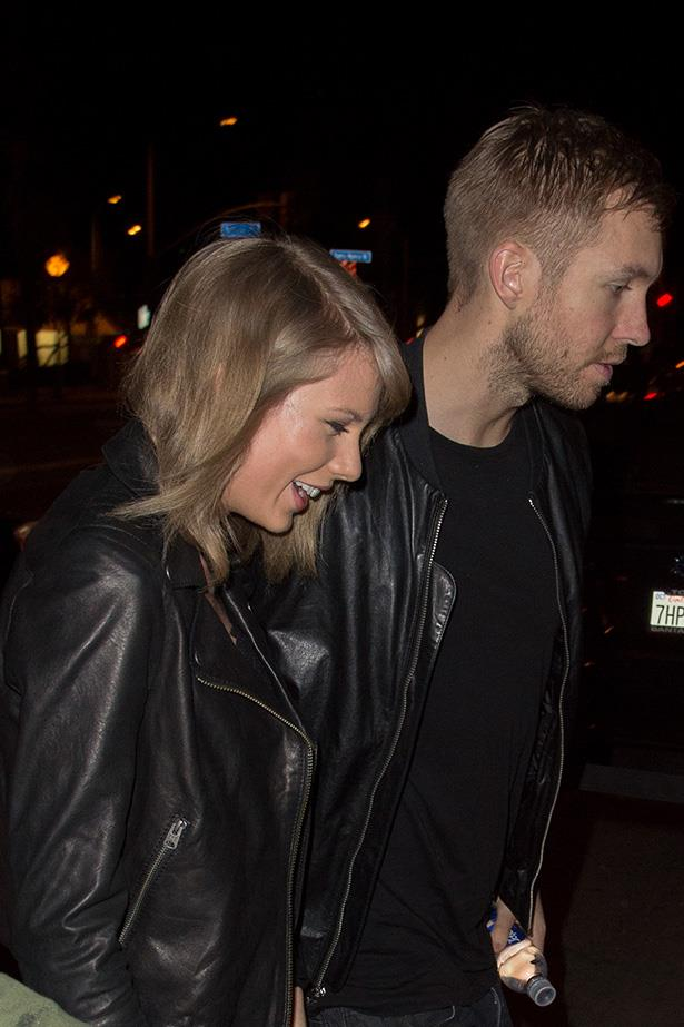 <strong>Taylor Swift and Calvin Harris in 2015</strong> <em>Getty</em>