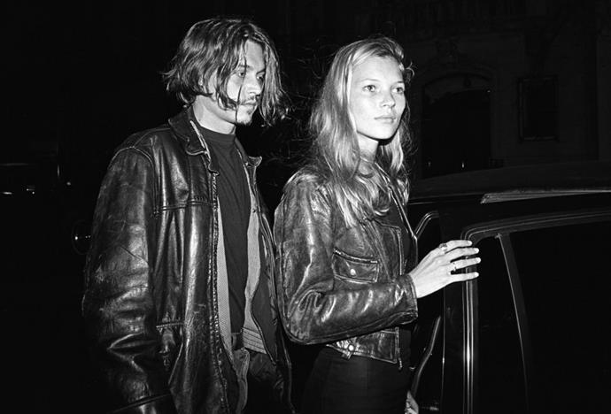 <strong>Johnny Depp and Kate Moss in 1994</strong> <em>Getty</em>