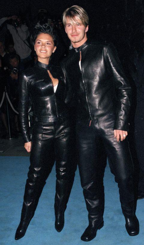 <strong>Victoria and David Beckham in 1999</strong> <em>Getty</em>