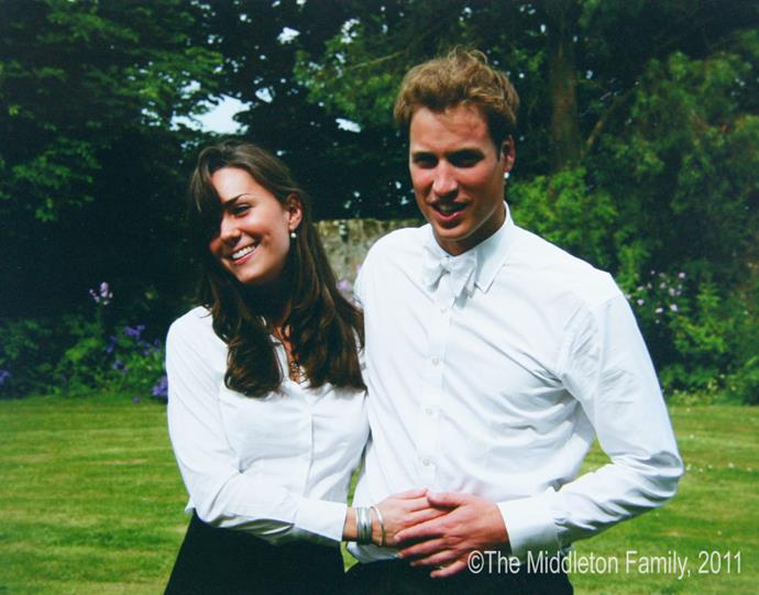 <strong>Kate Middleton and Prince William in 2005</strong> <em>The Middleton Family</em>