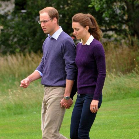 <strong>Prince William and Kate Middleton in 2011</strong> <em>Famefly</em>