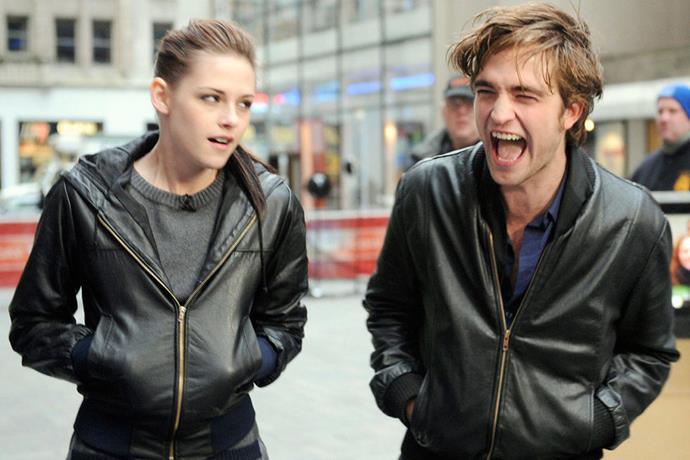 <strong>Kristen Stewart and Robert Pattinson</strong> <em>Associated Press</em>