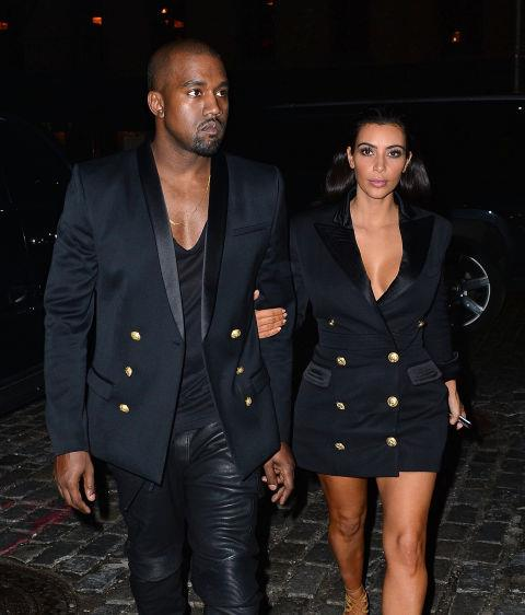 <strong>Kanye West and Kim Kardashian in 2014</strong> <em>Getty</em>