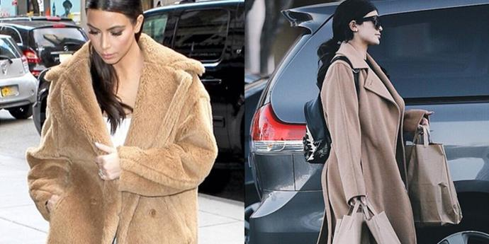 <strong>RUNNING ERRANDS IN EXPENSIVE CAMEL COAT TWINS</strong>
