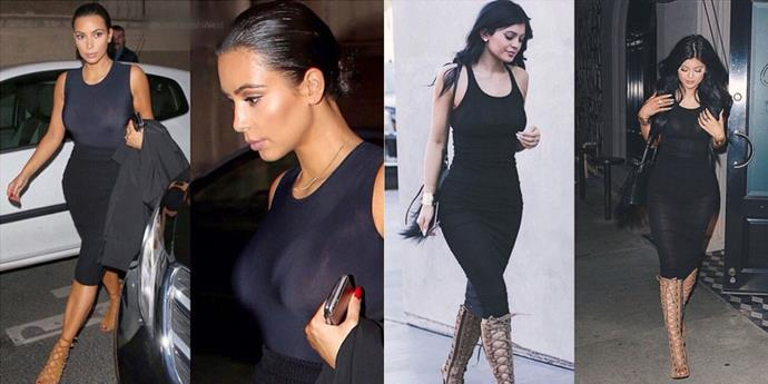 <strong>TIGHT BLACK DRESS TWINS</strong>