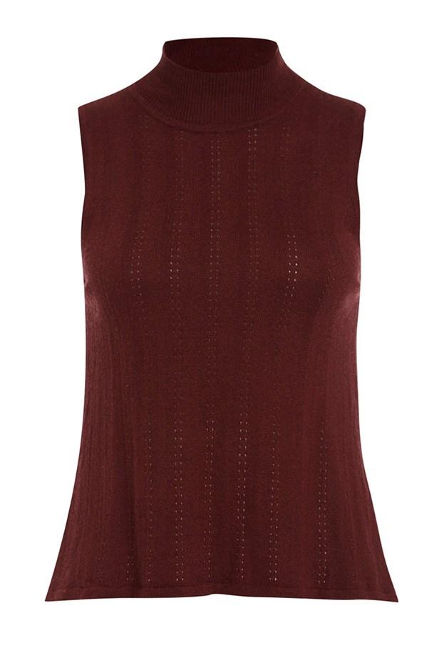 "Top, $79.95, Bardot, <a href=""http://www.bardot.com.au/Mira-Knit-Top.aspx?p545650&cr=045944"">Bardot.com.au</a>"