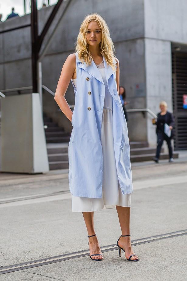 Gemma Ward wearing Tome