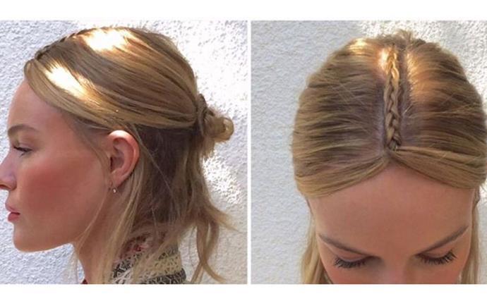 Kate Bosworth Coachella hairstyle