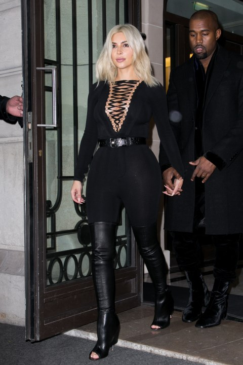 <strong>MARCH 8, 2015</strong> <BR> In Givenchy while out in Paris.