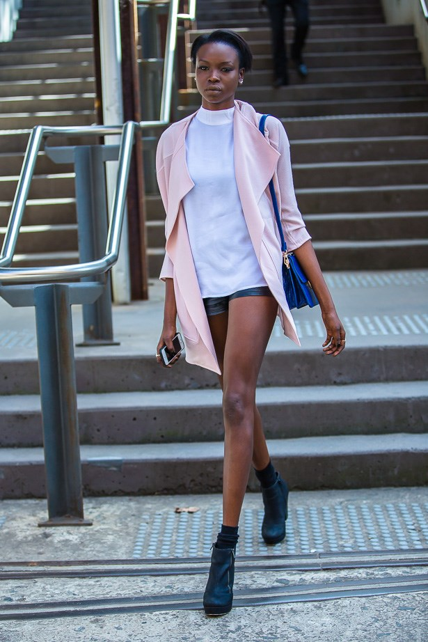 Yaya Deng wearing outfit bu The Iconic<BR><BR> IMAGE: TheTrendspotter.net