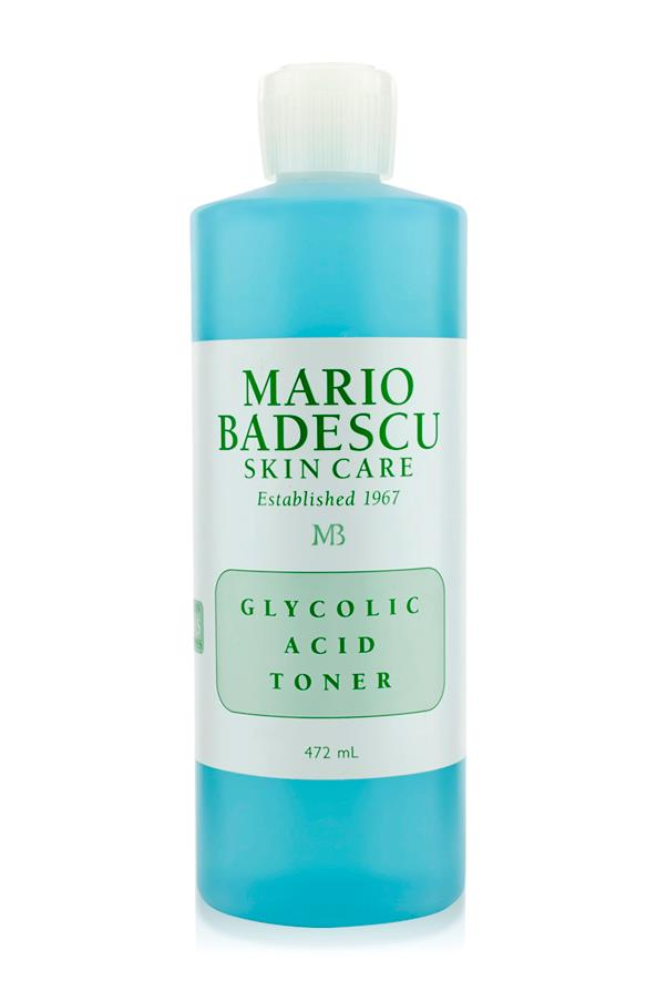 "<p><strong>G = Glycolic acid</strong></p> <p>Glycolic acid is an alpha hydroxy acid (AHA) and chemical exfoliant that works to smooth the skin's surface. </p> <p><em>Glycolic Acid Toner, $24, Mario Badescu, <a href=""http://mecca.com.au/"">mecca.com.au </a></em></p>"